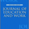 Forside Journal of Education and Work.