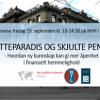 Konferanse om skatteparadis og skulte penger, mikroplakat