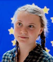 Greta Thunberg 2019. Foto: Europaparlamentet. Lisens CC by 2.0