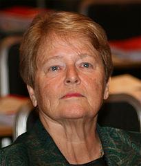 Gro Harlem Brundtland, 2009. Foto GAD via wikimedia. Lisens CC by-sa 3.0