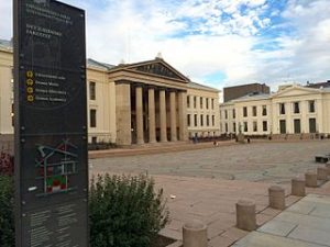 Universitetet i Oslo. Foto: Wolfmann / wikipedia. Lisens: CC by-sa 4.0