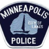 Merke for politiet i Minneapolis