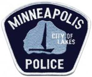 Merke for politiet i Minneapolis