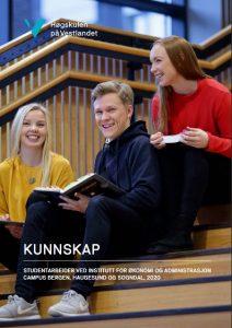 Framsida HVL årbok studentoppgåver